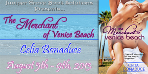 The Merchant of Venice Beach Tour Banner
