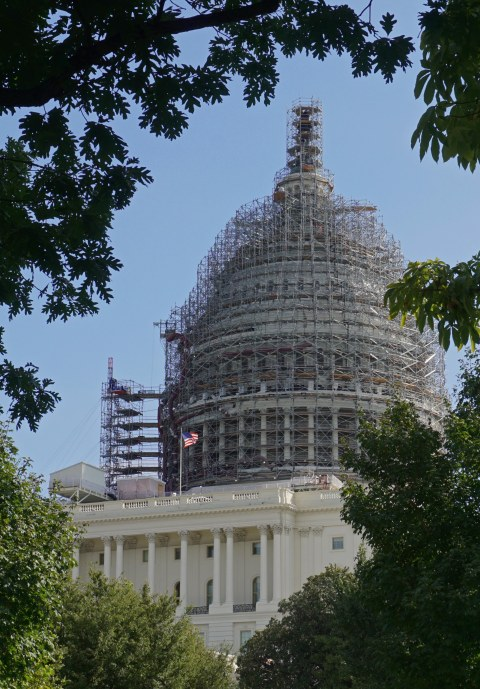The Capitol is getting a face lift!